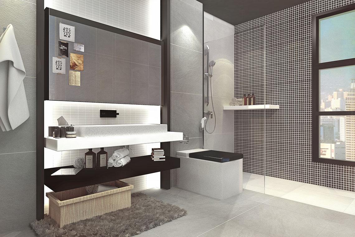 ภาพตัวอย่างห้องน้ำ b-man