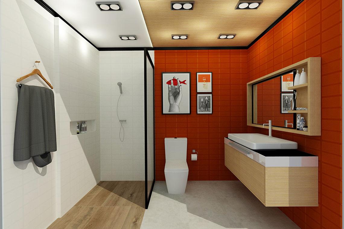 รูป แบบห้องน้ำ choco-bar