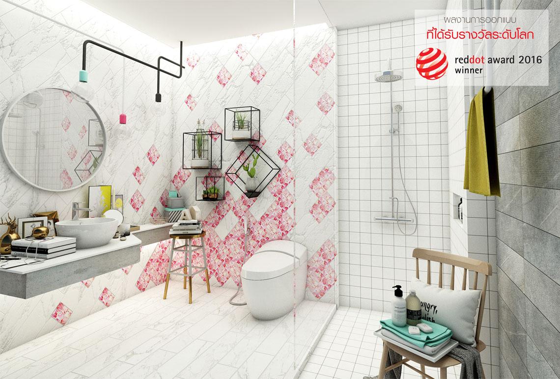 ห้องน้ำเก๋ๆ,แบบห้องน้ำน่ารักโมเสค,แบบห้องน้ำน่ารัก,แบบห้องน้ำโมเสค