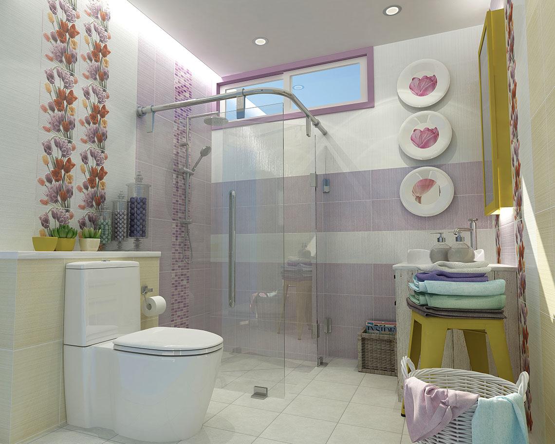 ตัวอย่างห้องน้ำ ในบรรยากาศสดชื่น ดึงดูดทุกสายตาผู้มาเยือน