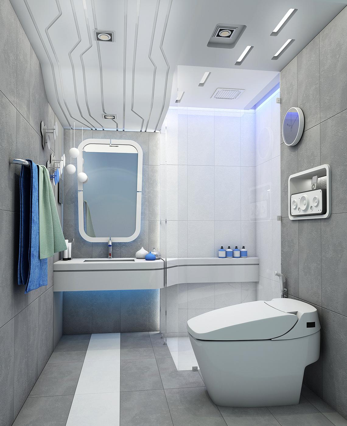 รูปห้องน้ำ ไอเดียแต่งห้องน้ำ สไตล์โมเดิร์น