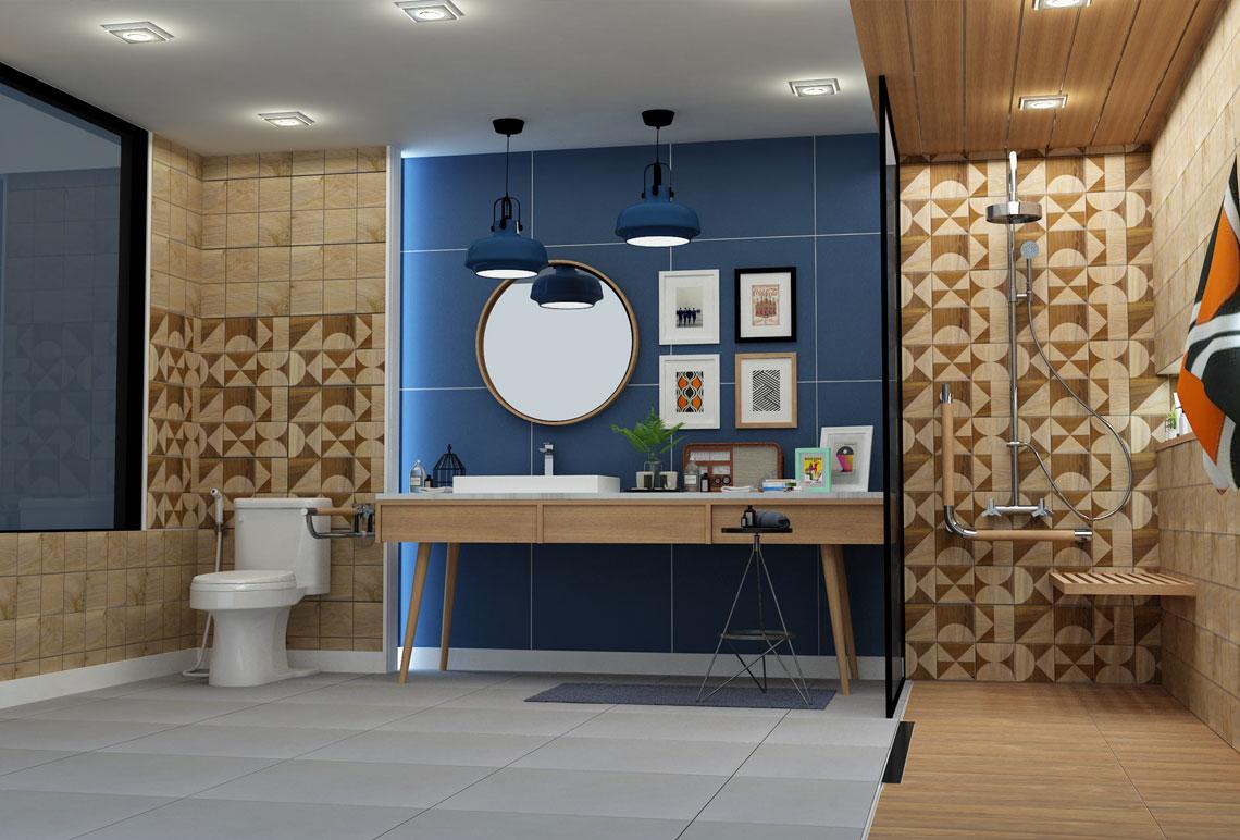 ห้องน้ำลายไม้,ห้องน้ำวินเทจ,แบบห้องน้ำเก๋