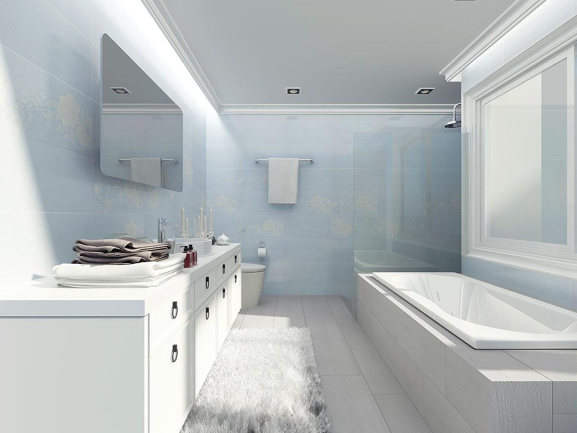 ห้องน้ำ White Fleur เรียบหรู อ่อนละมุนจากดอกไม้สีขาว