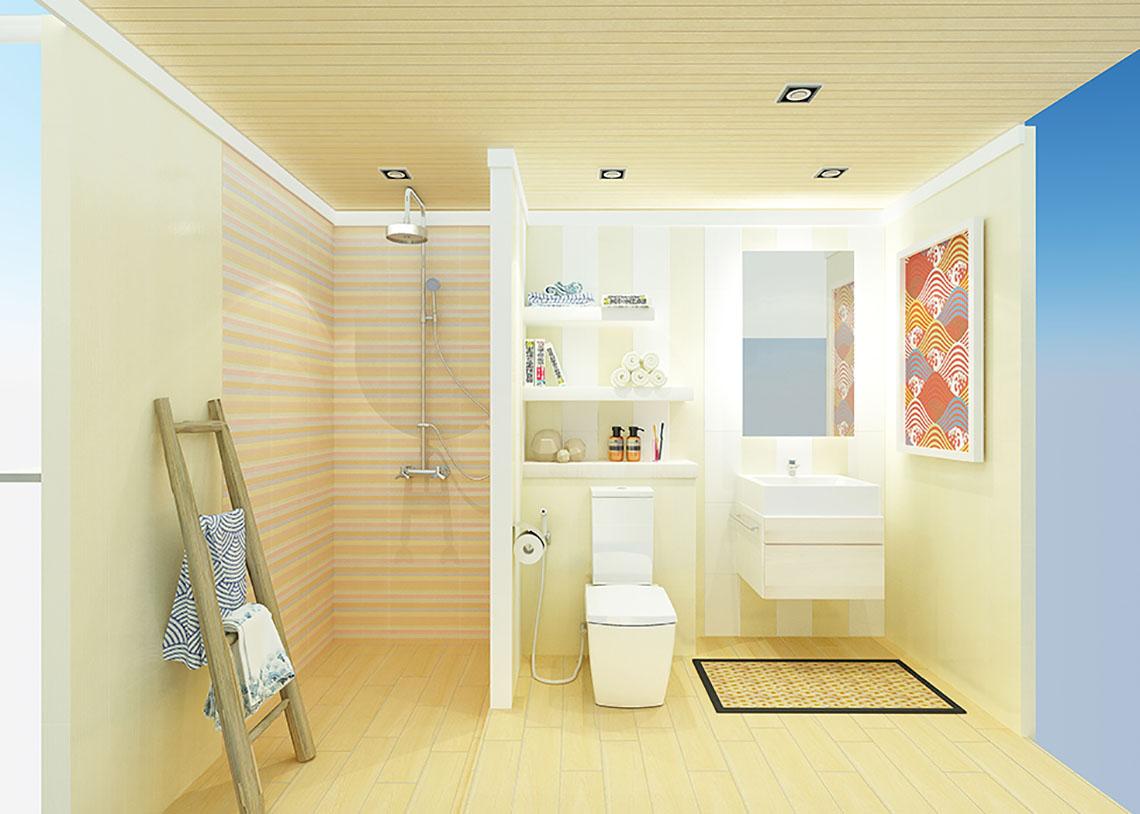 ออกแบบห้องน้ำ สไตล์ญี่ปุ่น